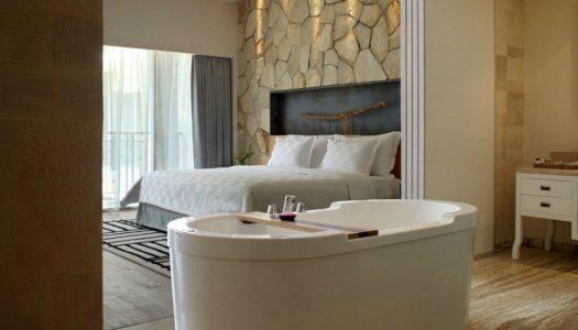 4 υπνοδωματια ξενοδοχειων με μπανιερα που μας εμπνεουν