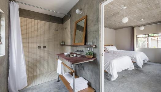 Δειτε πως το ταβανι αυτου του Bed & Breakfast καταλυματος, καθοριζει το συνολικο του design