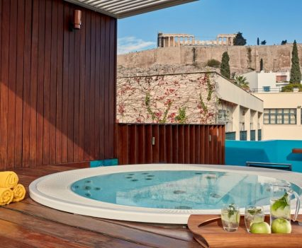 hotel jacuzzi design, herodion hotel