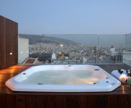 hotel jacuzzi design, periscope