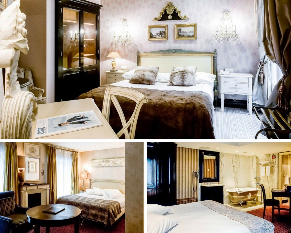 Chateaubriand Hotel | τζάκια| Hotelier Academy