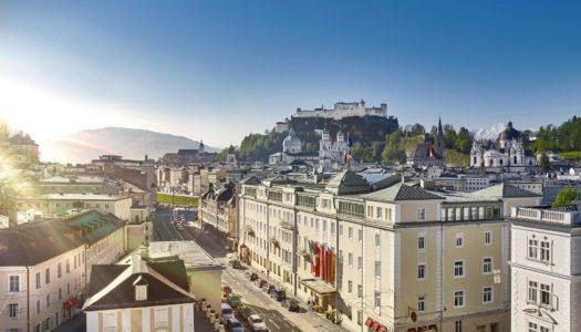 Ενα κεικ σοκολατας διαμορφωνει την εμπειρια του επισκεπτη, σε αυτο το πολυτελες ξενοδοχειο στο Salzburg