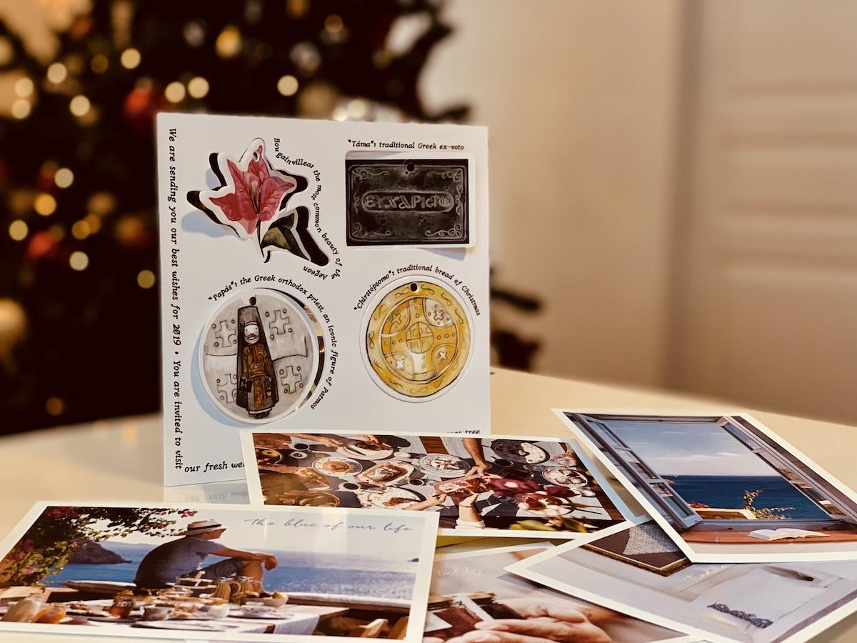 Χριστουγεννιάτικο δώρο από το Patmos Eye | Traditional Luxury Villas