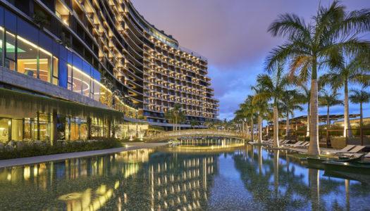 Ενα ολοκαινουριο ξενοδοχειο σε εναν εξωτικο προορισμο, συνδυαζει αρμονικα επαγγελματικα ταξιδια και αναψυχη