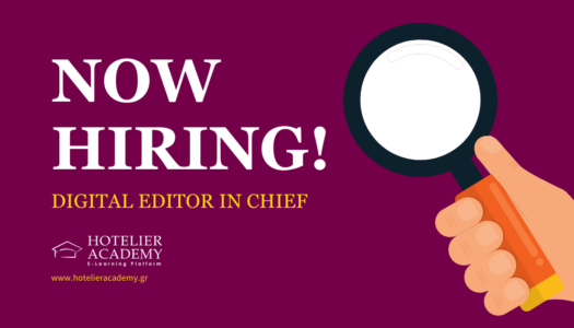 Digital Editor in Chief: New Job Opening at Hotelier Academy